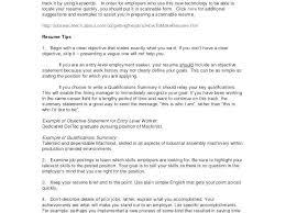 15 Inspirational Sample Resume Objective Statements Stock