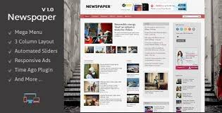 responsive blogger templates newspaper responsive blogger template by templateszoo themeforest