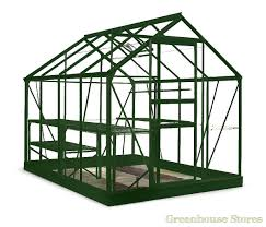 8x6 green halls popular greenhouse horticultural glass 409