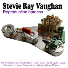 electrics wiring kits page 1 northwest guitars Guitar Wiring Harness Uk solderless stevie ray vaughan srv stratocaster strat wiring kit hand built in the uk guitar wiring harness kits for les paul