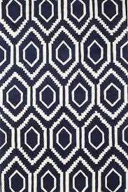 blue geometric rug uk
