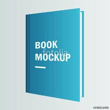 book cover mockup vector design