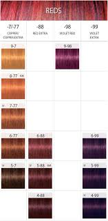 Igora Colour Chart 11 Symbolic Igora Personality Color Chart