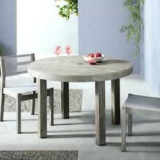 weathered grey dining table outdoor round dining table weathered gray weathered grey dining table set