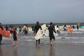 Surfers Paddle Out For Memorial To Sea Isle City Native