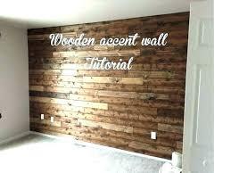 accent wall decor barn wood ideas wooden tutorial reclaimed diy barnwood feature