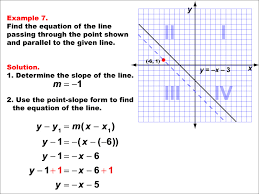 tutorial parallel and perpendicular lines example 7