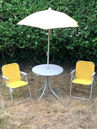 outdoor table and chairs. Kids Outdoor Table And Chairs Garden Tables Chair Parasol Metal T