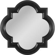 allen roth black wall mirror