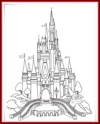 coloring pages disney disney castle logo coloring pages unbelievable disney castle coloring pages pic for logo