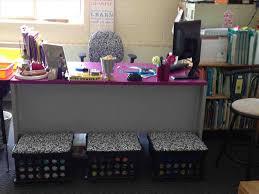 diy teacher desk decor how the crate seats match teacher chair like top of middle school
