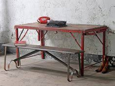 Industrial furniture vintage Rustic Vintage Folding Table At Scaramanga Industrial Bedroom Furnitureindustrial Century Salvage 378 Best Industrial Furniture Images Industrial Style Homes