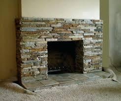 fireplace stones decorative fireplace decorative rock