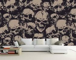 Beibehang Custom Tapete Hohe Ende Charakter Schädel Kunst Hintergrund Wand Wohnzimmer Schlafzimmer Tv Hintergrund Wandmalereien 3d Tapete