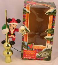 Mr Christmas Animated Lighted MICKEY MOUSE Tree Topper