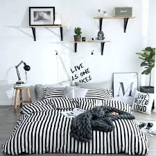 black and white striped duvet cover black white striped bedding sets bed and fitted sheets pillowcase