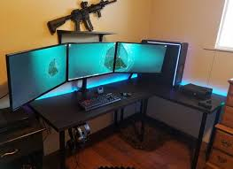 office computer setup. Popular Of Gaming PC Desk Setup Best Ideas About On Pinterest Computer Office