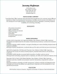 Resume Skills For Bank Teller Unique 48 Unique Entry Level Bank Teller Resume Pictures