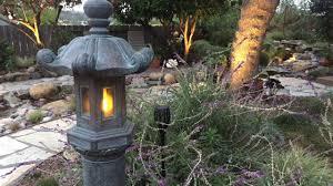 Image Backyard Japanese Garden Lantern Flickering Led Retrofit Youtube Japanese Garden Lantern Flickering Led Retrofit Youtube