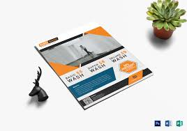 Cleaning Brochure Modern Euro Home Cleaning Flyer Template