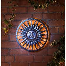 solar sun metal wall art 8 at b m