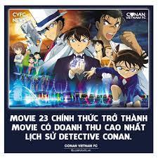Tính đến hôm qua, doanh thu movie 23... - Conan Vietnam FC