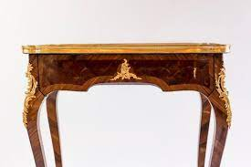 small antique louis xv style console