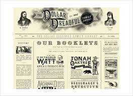 Old Time Newspaper Template Word Old Fashioned Newspaper Template For Word Dlword