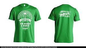 Design Baju T Shirt Family Day Cetak Baju Online Tempah Tshirt Family Day Tok Bedah