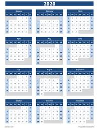 excel 2020 calendar - Yatay.horizonconsulting.co