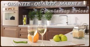 how much granite quartz countertops cost