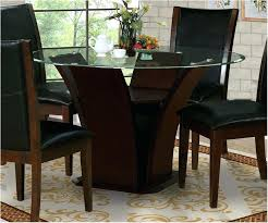 hill country wood round pedestal dining table in dark tables for oval dark wood round dining