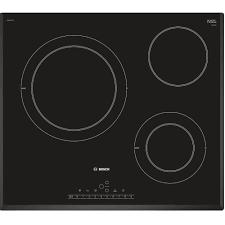 Bếp điện 3 vùng nấu Bosch HMH.PKK651FP1E -Serie 6