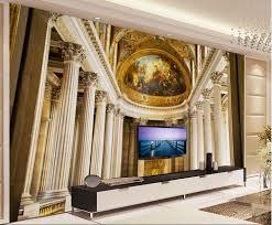 Custom Foto Behang 3d Behang Europese Stijl Franse Versailles