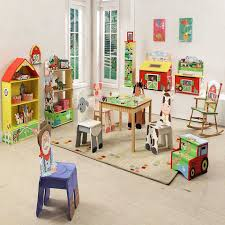 cool playroom furniture. Kids Playroom Furniture Set With Animal Learning Design Cool