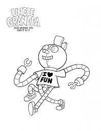 Small Picture Uncle Granpa Coloring pages UG Head Free Printable coloring