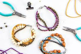 how to make layered beaded bracelets