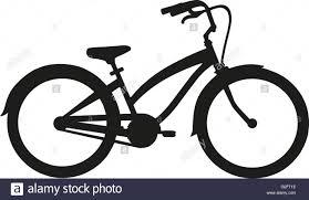 Cruiser bike stock image
