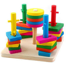 Wooden Math Games Educational math toys wood baby kids toys for toddler math games 10