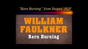quot Barn Burning quot  by William Faulkner   Group   CPLT    C