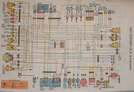 kawasaki kz550 wiring diagram of the electrical system 59265 kawasaki kz550 wiring diagram of the electrical system