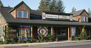 Sisters, Oregon. The Stitching Post quilt shop where there is an ... & Sisters, Oregon. The Stitching Post quilt shop where there is an event  every July Adamdwight.com
