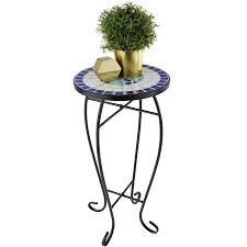 TecTake 800571 <b>Mosaic</b> Balcony <b>table</b>, Flo- Buy Online in Suriname ...