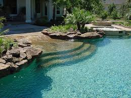 freeform pool with steps companies in houston95