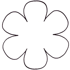 Free Free Flower Templates Printable Download Free Clip Art