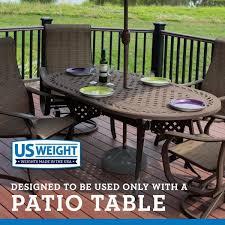 us weight durable 50 lbs umbrella base