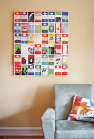 diy postcard wall art i made something new for the living room a big collage of postcards mounted on foam board  on foam board diy wall art with diy postcard wall art how about orange