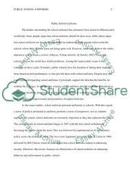public school uniforms rough draft research paper public school uniforms rough draft essay example