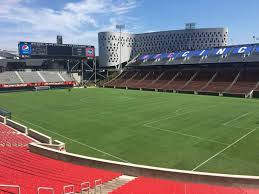 Nippert Stadium Seating Chart With Rows Nippert Stadium Section 117 Row 32 Seat 35 Fc