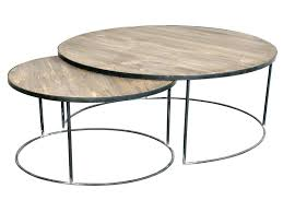 nesting coffee table wood best of round nesting coffee table link wood set of nesting coffee